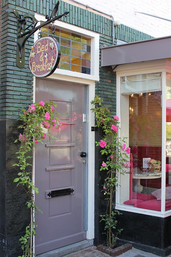 De ingang van onze bed & breakfast in Bilthoven